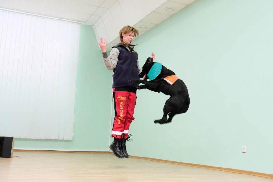 В Днепре собаки-реабилитологи приехали к детям из противотуберкулезного санатория (ФОТО), фото-4