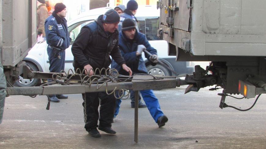 В нижней части Мелитополя затруднено движение маршруток (фото), фото-4