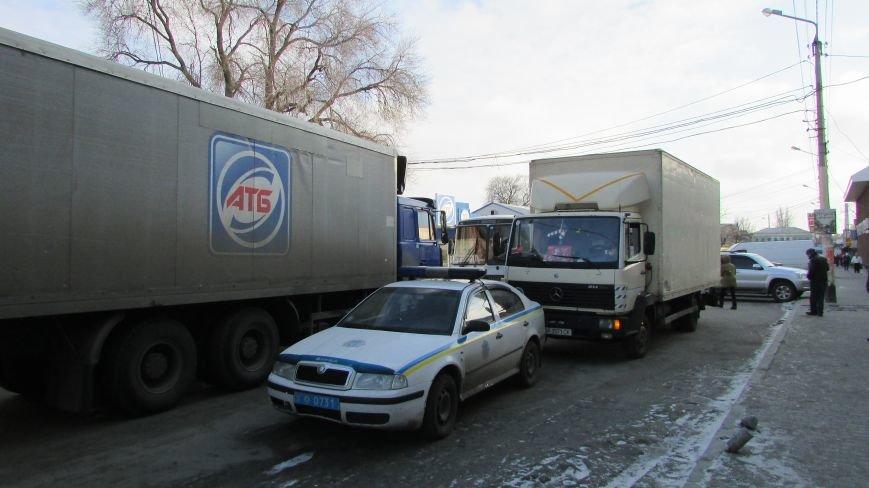 В нижней части Мелитополя затруднено движение маршруток (фото), фото-5