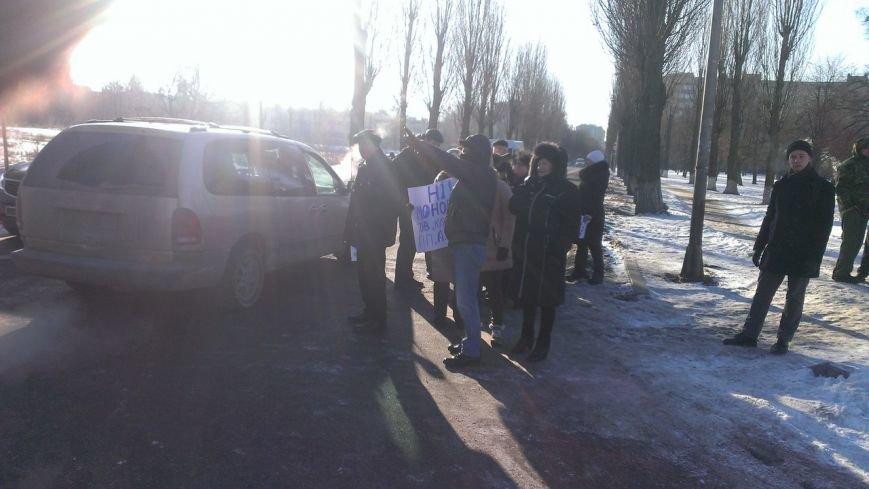 В Вишневом местные жители продолжают борьбу с повышением цен на проезд, протестное шествие продолжается: (ФОТО), фото-3
