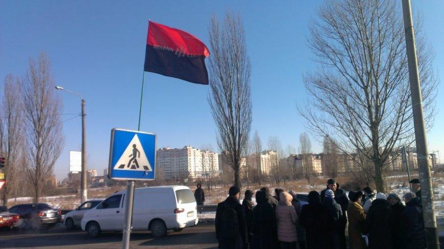 В Вишневом местные жители продолжают борьбу с повышением цен на проезд, протестное шествие продолжается: (ФОТО), фото-6