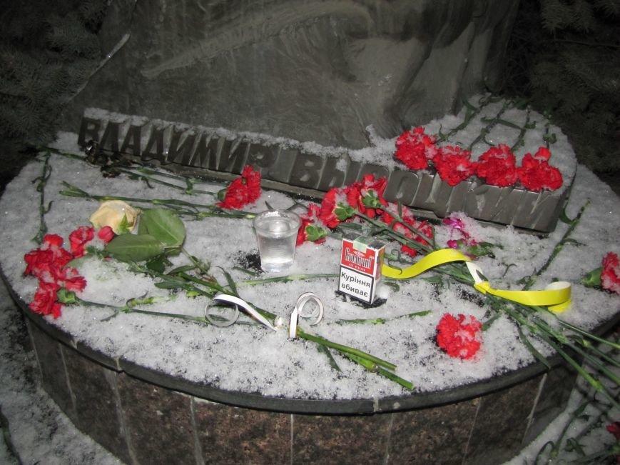 Мелитопольцы почтили память Владимира Высоцкого, фото-3