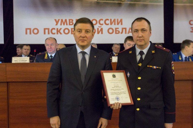 Губернатор Псковской области обозначил основные направления совместной работы с правоохранительными органами, фото-1