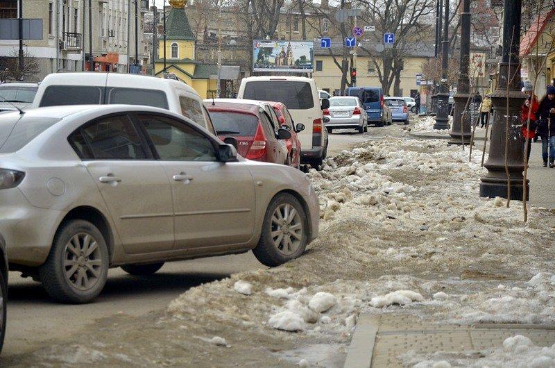 В Одессе сугробы «пленили» автомобили (ФОТО), фото-1