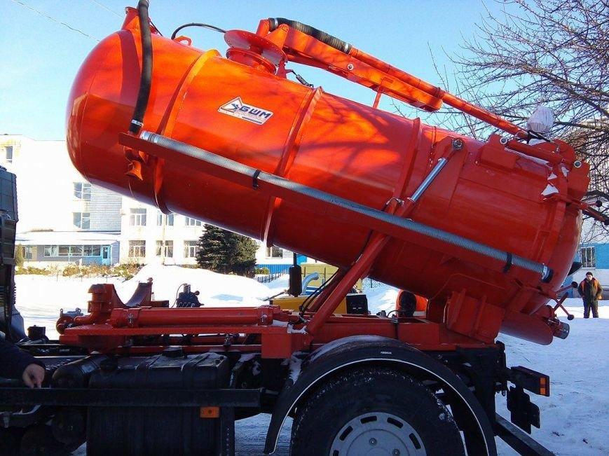 В Сумах «Горводоканал» пополнил свой автопарк на 6 миллионов гривен (ФОТО), фото-4