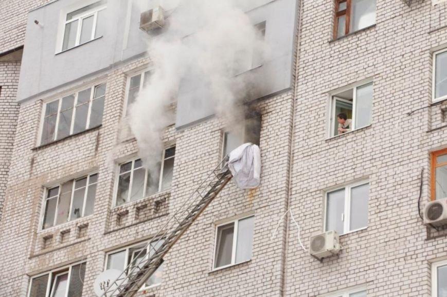 Пожар вДнепре забрал жизнь ребенка