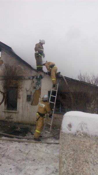 В Белогорском районе на пожаре спасли троих детей (ФОТО), фото-1
