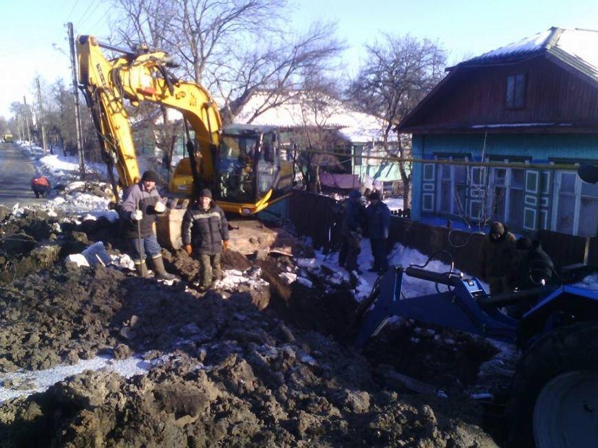 Третю добу мешканці вулиці Петра Сагайдачного без води, фото-1