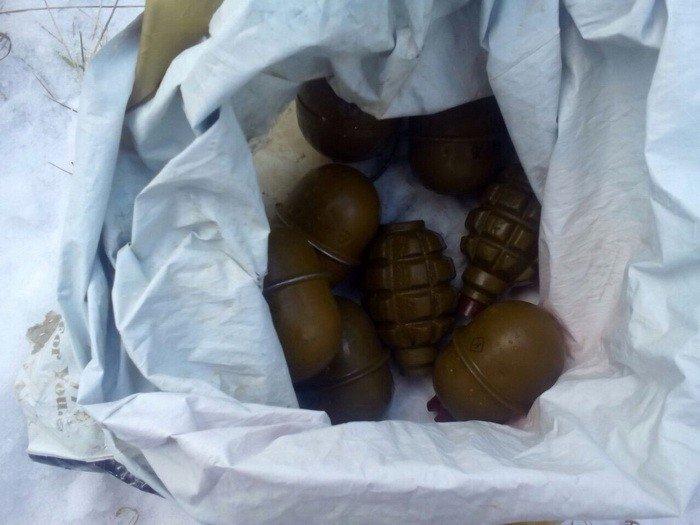 В Запорожской области СБУ обнаружила оружейный схрон, фото-1