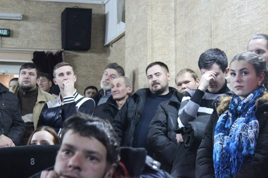 В кинотеатре Довженко с аншлагом презентовали фильм о разгоне запорожского Майдана, - ФОТОРЕПОРТАЖ, фото-17