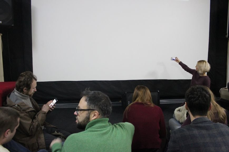 В кинотеатре Довженко с аншлагом презентовали фильм о разгоне запорожского Майдана, - ФОТОРЕПОРТАЖ, фото-9
