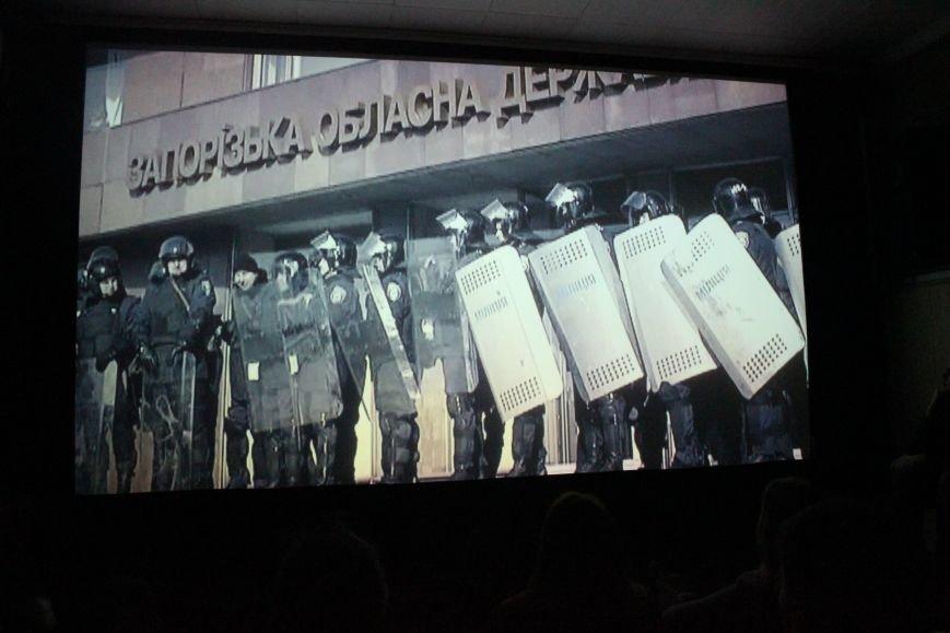 В кинотеатре Довженко с аншлагом презентовали фильм о разгоне запорожского Майдана, - ФОТОРЕПОРТАЖ, фото-13