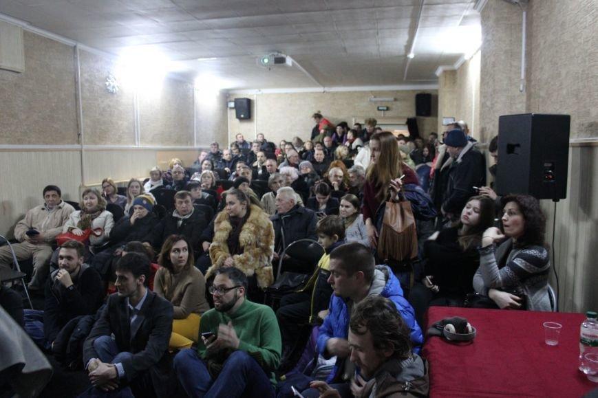 В кинотеатре Довженко с аншлагом презентовали фильм о разгоне запорожского Майдана, - ФОТОРЕПОРТАЖ, фото-8