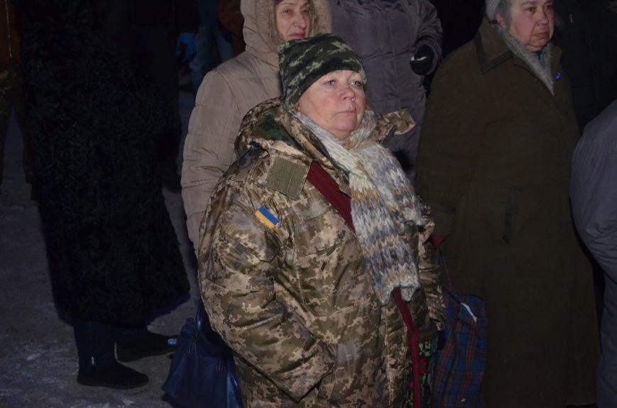 В Запорожье на акцию, посвященную годовщине разгона Майдана, пришел Шацкий и еще сотня горожан, фото-7