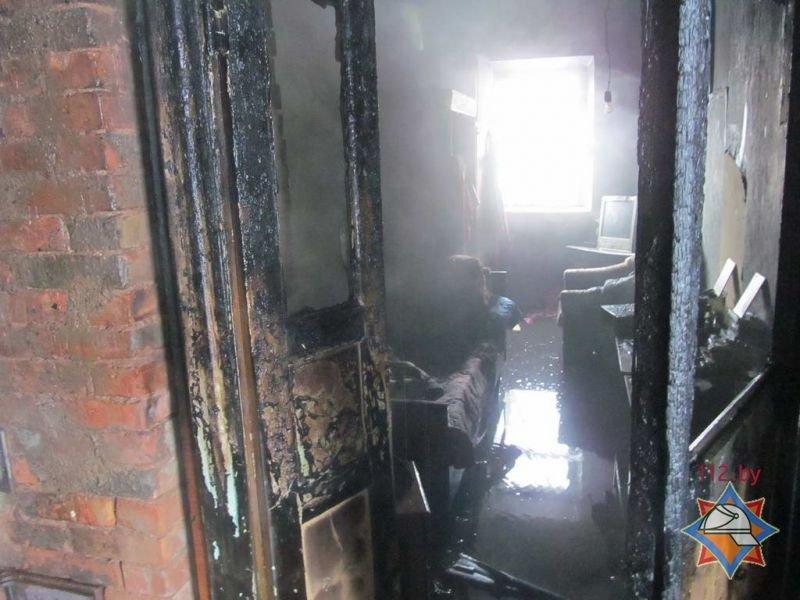 В Полоцке на пожаре женщина получила ожоги 25% тела, фото-6