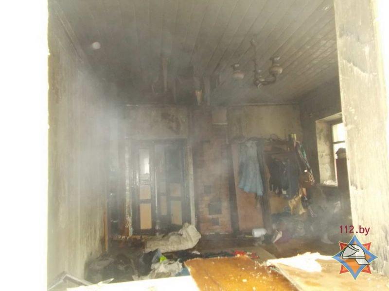 В Полоцке на пожаре женщина получила ожоги 25% тела, фото-2