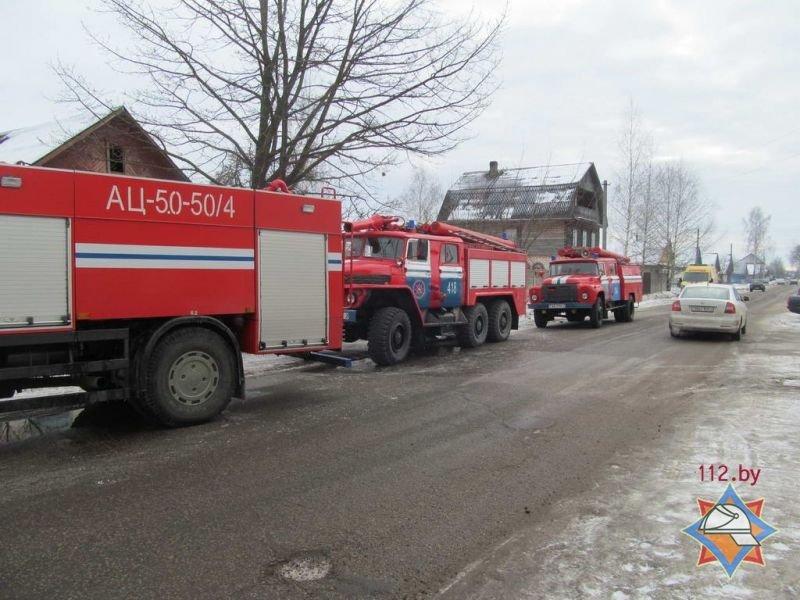 В Полоцке на пожаре женщина получила ожоги 25% тела, фото-4