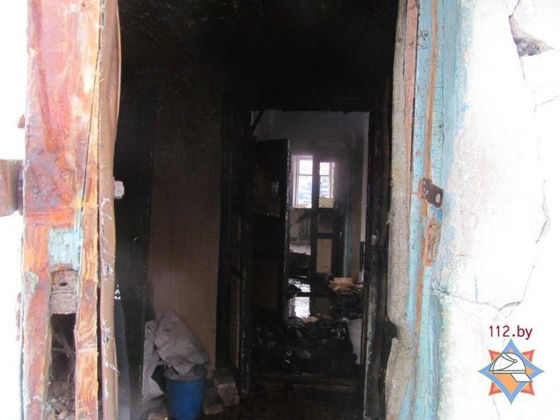 В Полоцке на пожаре женщина получила ожоги 25% тела, фото-5