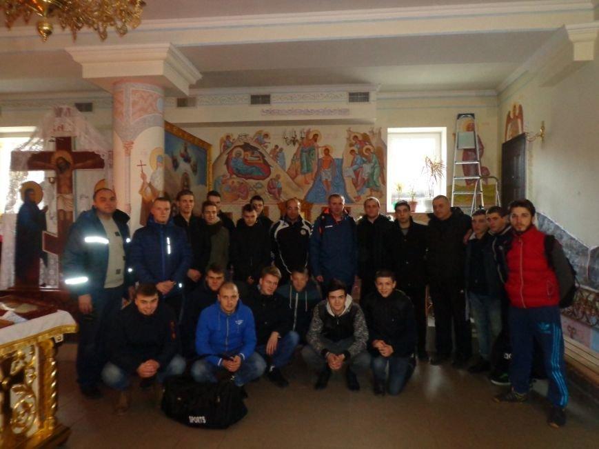 К святыням Мелитополя приложились спортсмены из Грузии и Литвы, фото-4
