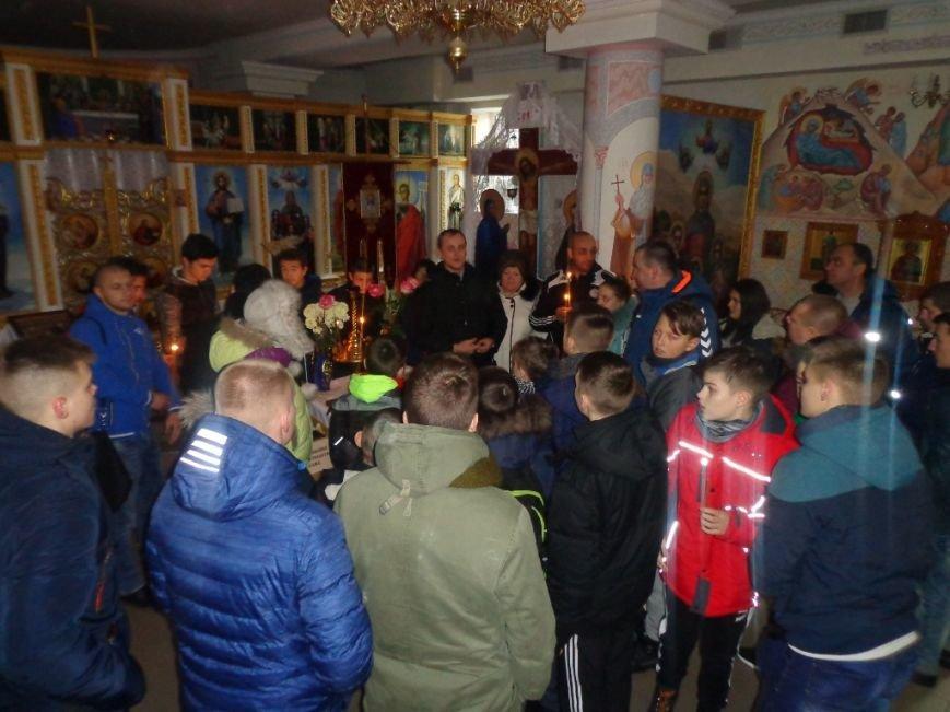 К святыням Мелитополя приложились спортсмены из Грузии и Литвы, фото-1