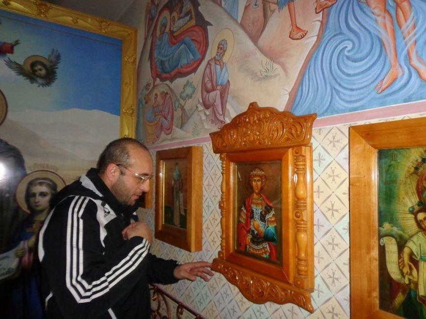 К святыням Мелитополя приложились спортсмены из Грузии и Литвы, фото-3
