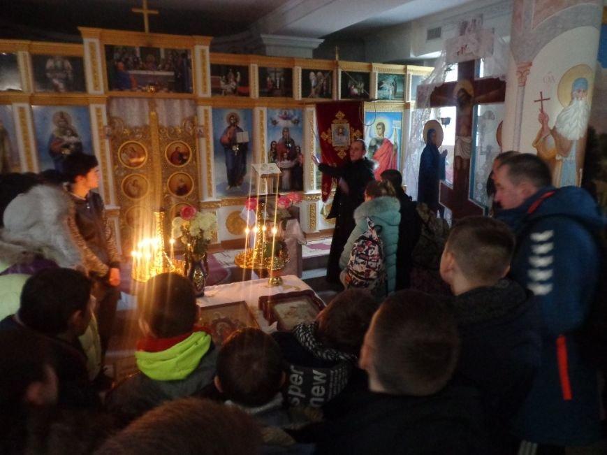 К святыням Мелитополя приложились спортсмены из Грузии и Литвы, фото-2