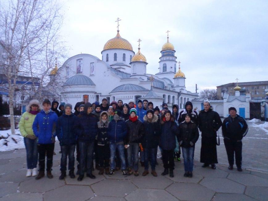 К святыням Мелитополя приложились спортсмены из Грузии и Литвы, фото-6