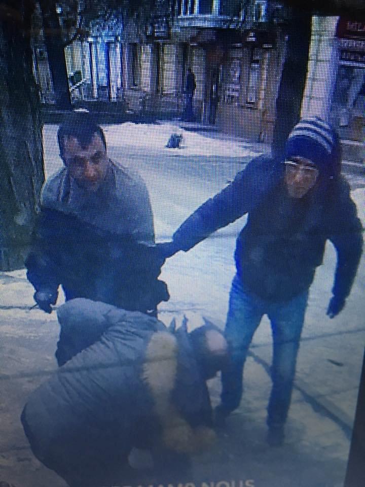В центре Запорожья среди бела дня преследовали мужчину, а потом избили его и ограбили, - ФОТО, ВИДЕО, фото-1