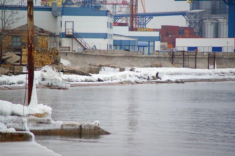 Ланжерон приготовился к выходным: лед ждет одесситов (ФОТО), фото-2