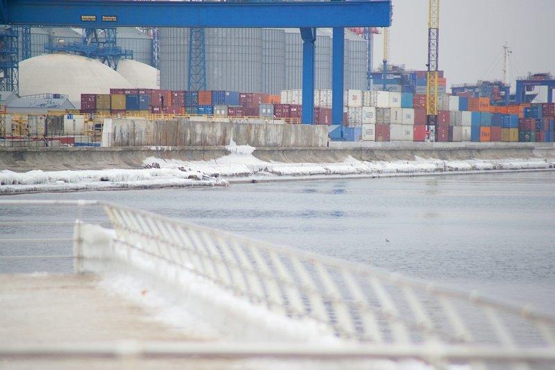 Ланжерон приготовился к выходным: лед ждет одесситов (ФОТО), фото-5