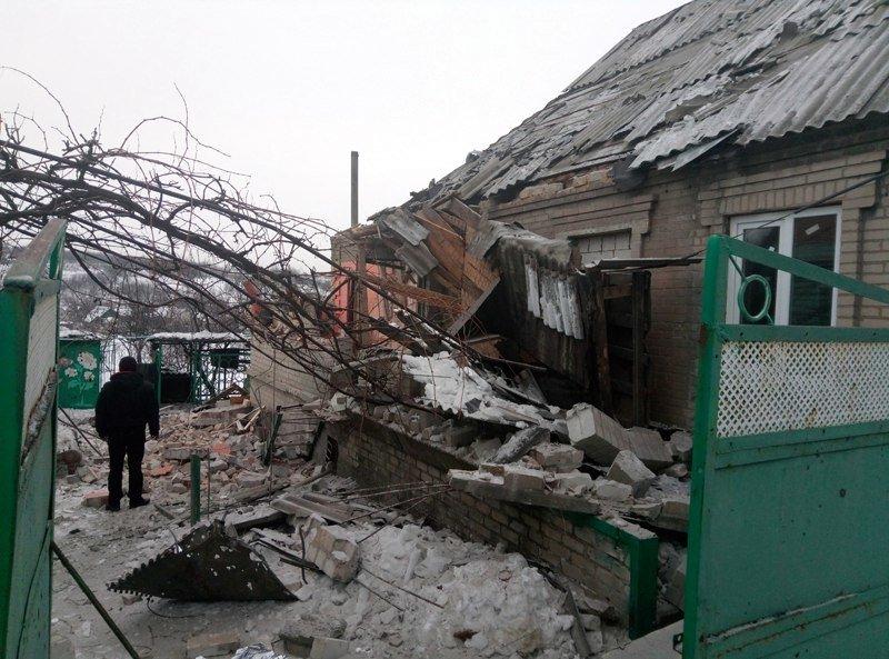 За ночь в Авдеевке пострадало несколько домов (обновлено), фото-1