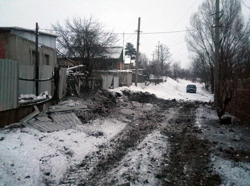 За ночь в Авдеевке пострадало несколько домов (обновлено), фото-3