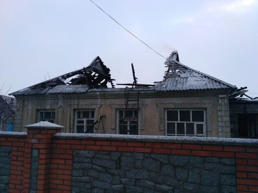 В Днепропетровской области от пожара пострадал пенсионер (ФОТО), фото-1