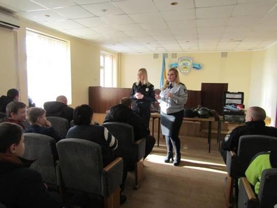 Школярі побували на екскурсії у Броварському відділу поліції (Фото), фото-2