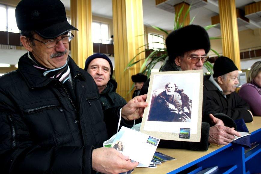 В Мариуполе гасят марку, посвященную известному земляку (ФОТО), фото-4