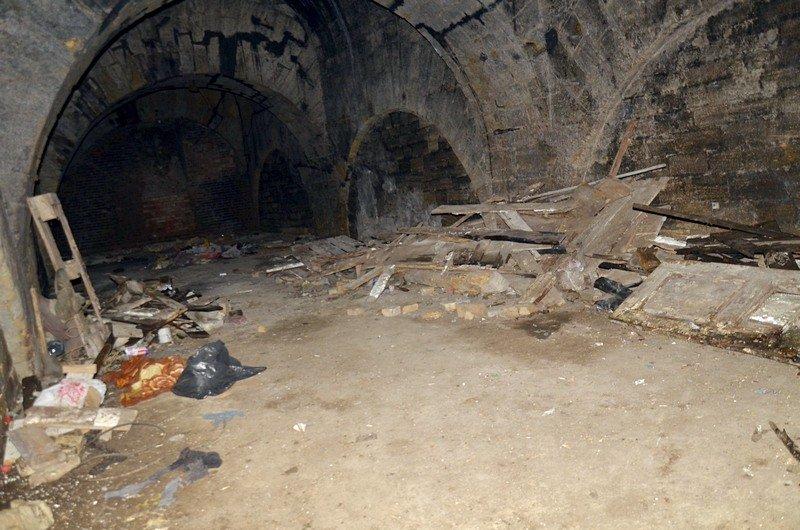 Галереи под Потемкинской лестницей напугали одесситов (ФОТО), фото-12