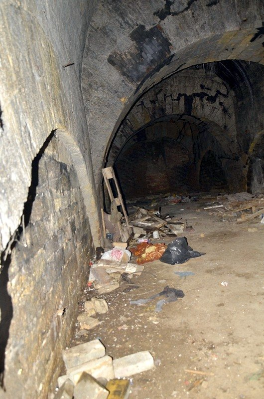 Галереи под Потемкинской лестницей напугали одесситов (ФОТО), фото-15