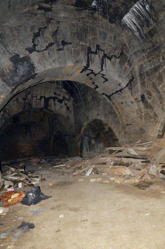 Галереи под Потемкинской лестницей напугали одесситов (ФОТО), фото-14