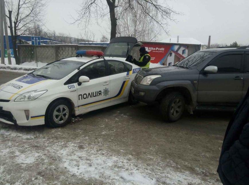 В Сумах произошло ДТП с участием полицейского «Приуса» (ФОТО), фото-1