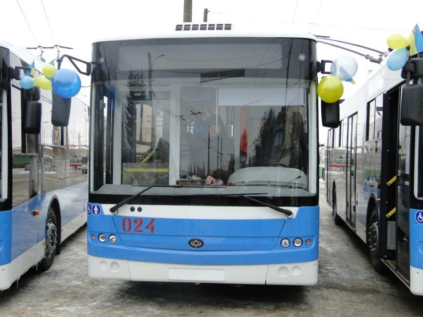 У Хмельницькому на маршрути виїхали 7 нових тролейбусів (ФОТО, ВІДЕО), фото-1