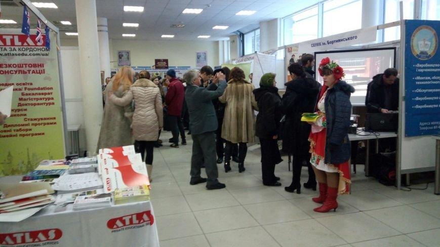 В Сумах открылась выставка для абитуриентов, фото-4