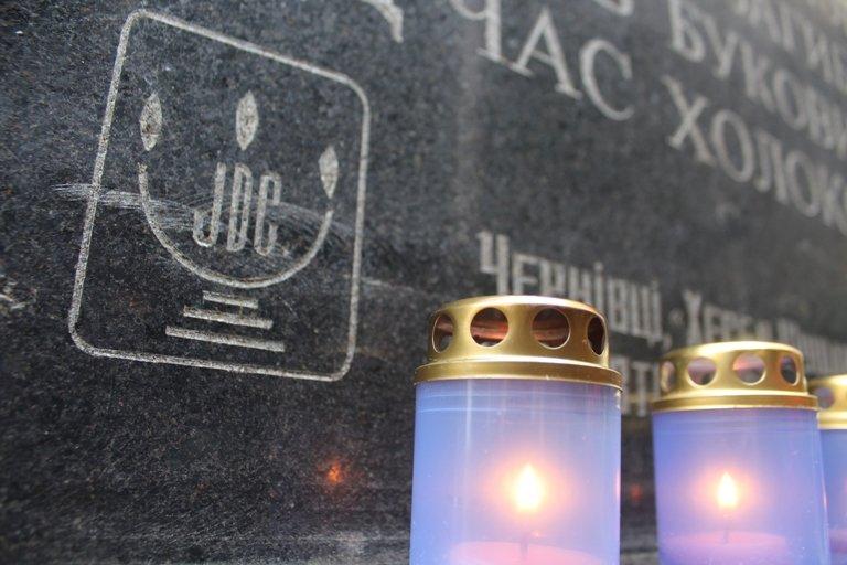 В Чернівцях відбувся мітинг в честь пам'яті жертв Голокосту, фото-2