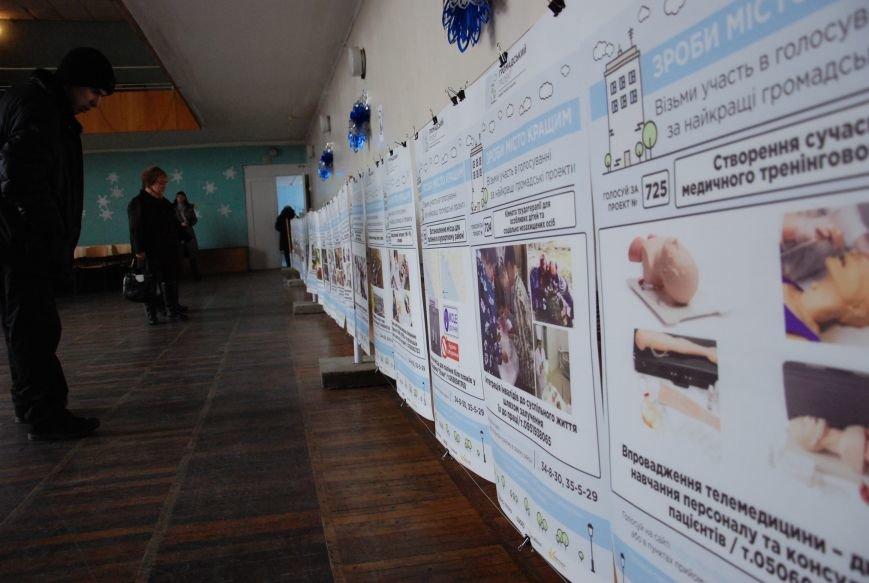 Сегодня в Бердянске открылась ярмарка общественных проектов, фото-1