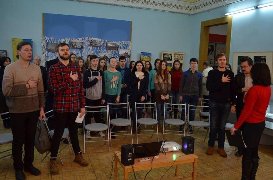В музее показали фильм о студентах, выступивших на защиту УНР, фото-2