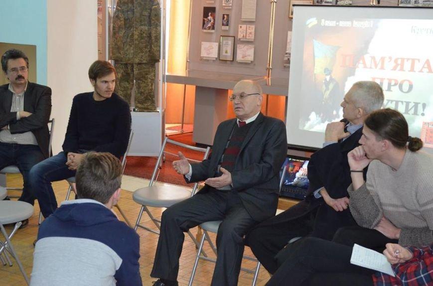 В музее показали фильм о студентах, выступивших на защиту УНР, фото-5