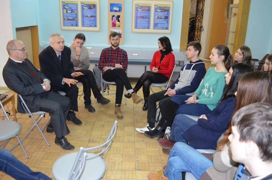 В музее показали фильм о студентах, выступивших на защиту УНР, фото-1