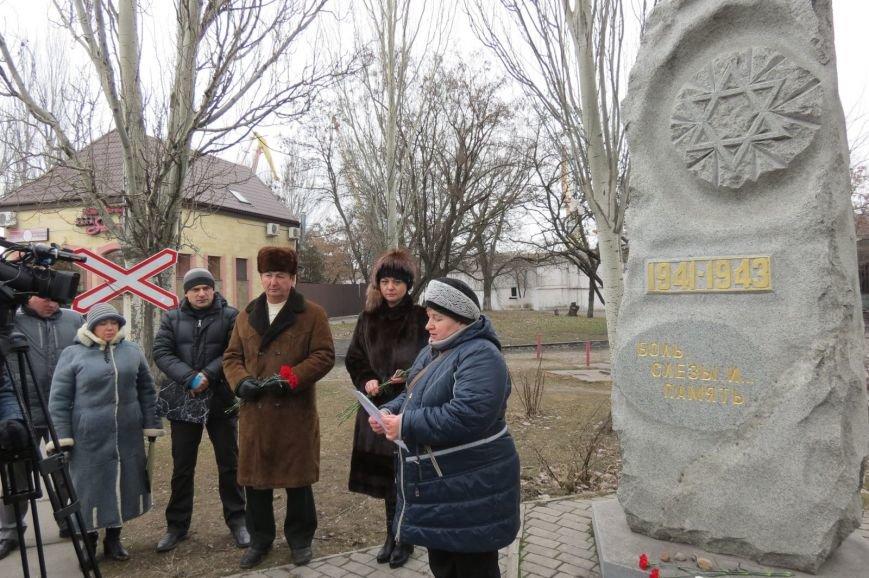 В Бердянске отметили Международный день памяти жертв Холокоста, фото-3
