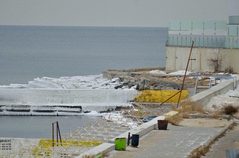 Одесская Аркадия превратилась в зимнюю сказку (ФОТО), фото-2
