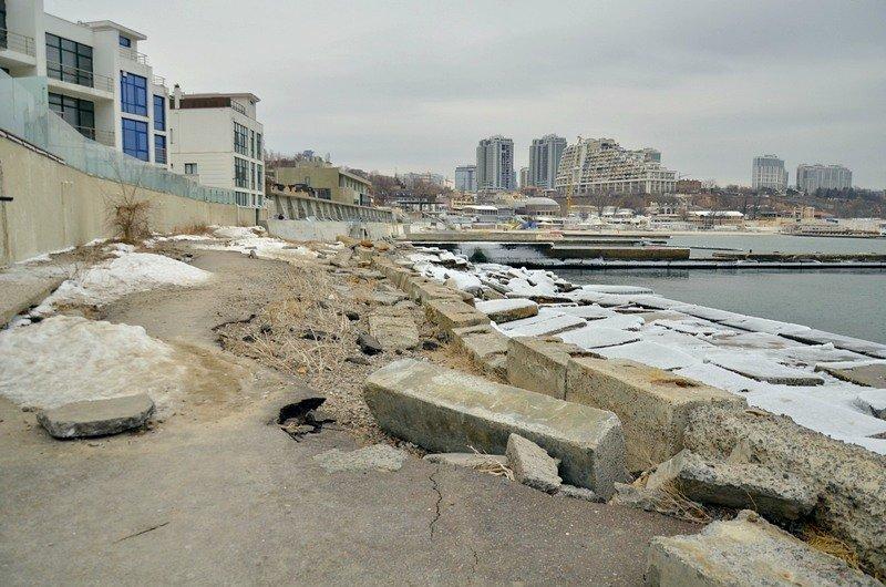 Одесская Аркадия превратилась в зимнюю сказку (ФОТО), фото-14
