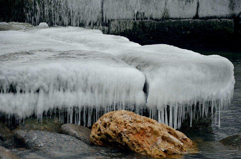 Одесская Аркадия превратилась в зимнюю сказку (ФОТО), фото-12